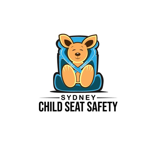 Playful and Professional Logo for Mobile Child seats