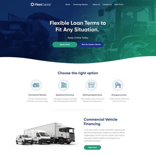 bold website for Fleet capital