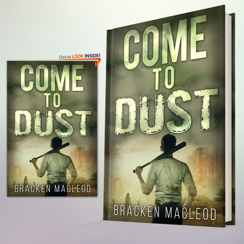 """Book Cover Concept for """"Come to Dust"""" 2"""