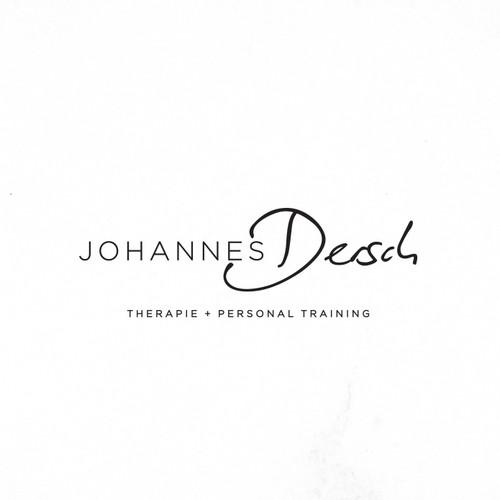 Erstelle ein anspruchsvolles Therapie Logo für Johannes