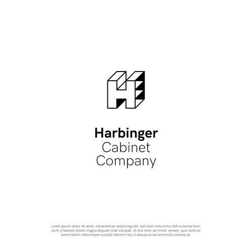 Logo design for a cabinet maker