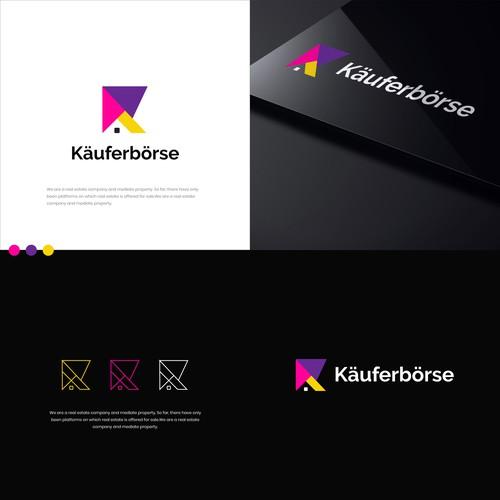 Käuferbörse logo concept