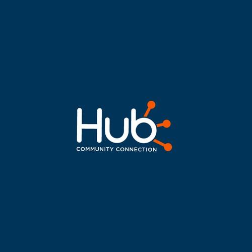 Logo Hub Community Connection