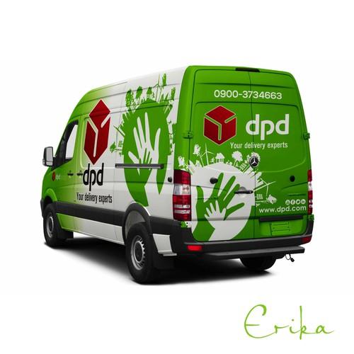 Nachhaltiges Auto-Branding für führenden Paketdienstleister