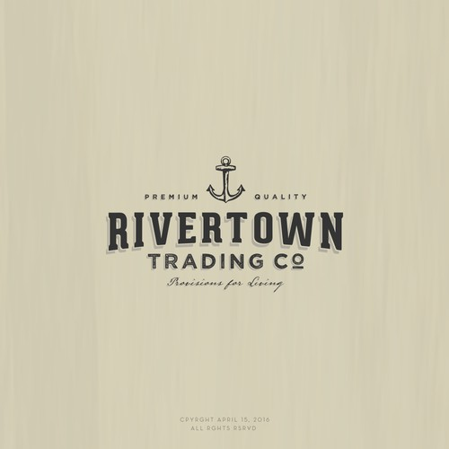 Logo design for Rivertown Trading
