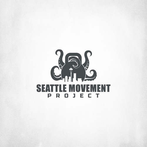 Create a logo for a new gym concept in Seattle