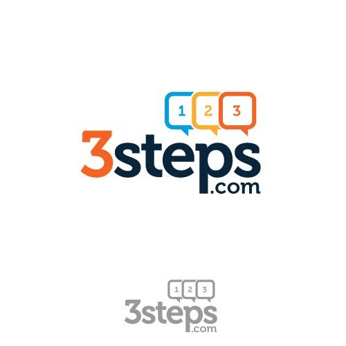 Logo for 3steps.com