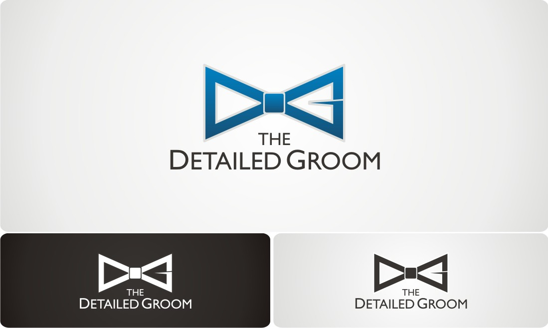 Create the next logo for The Detailed Groom