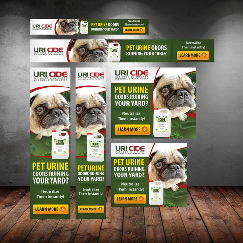 Need Creative Web Banner Ads Designed for Pet Product!