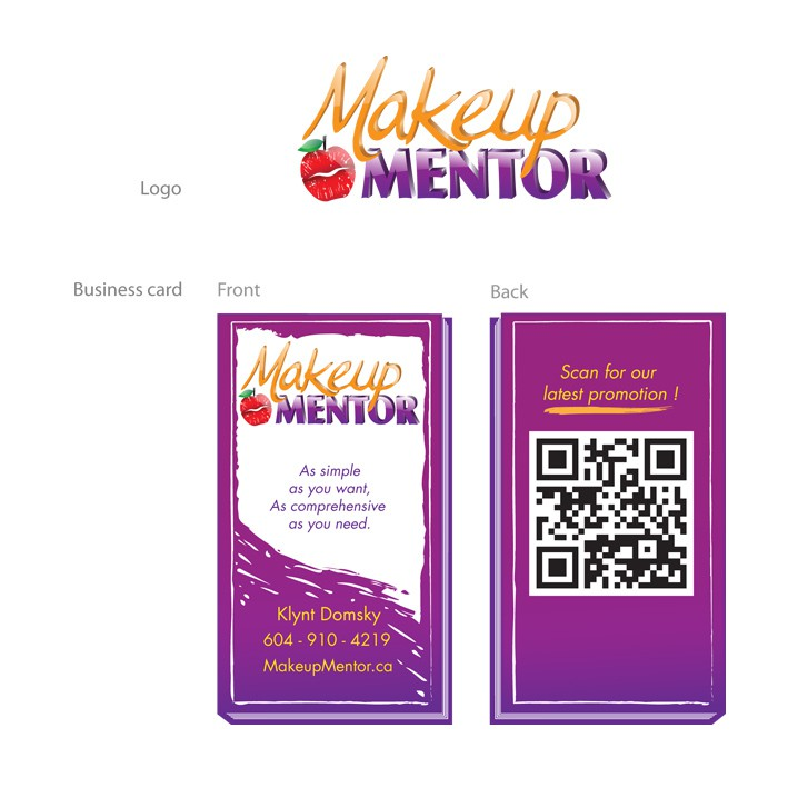 Create the first logo for Makeup Mentor