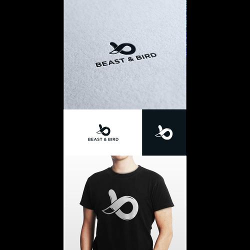 Design a modern logo for new clothing brand Beast & Bird!