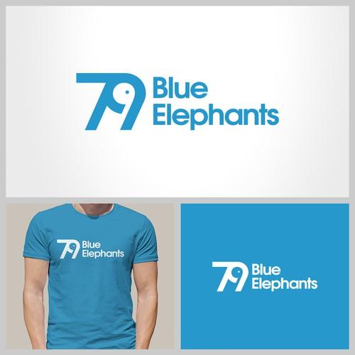 79 Blue Elephants