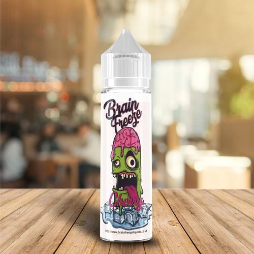 Playful label for vape bottle