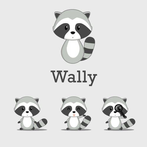 Wally The Curious Racoon