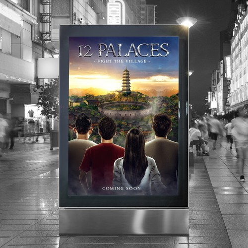 "MovieposterDesign for ""12 Palaces"""