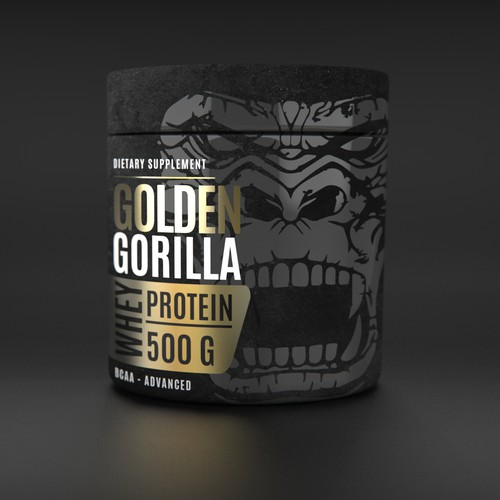 Whey Protein Label Design