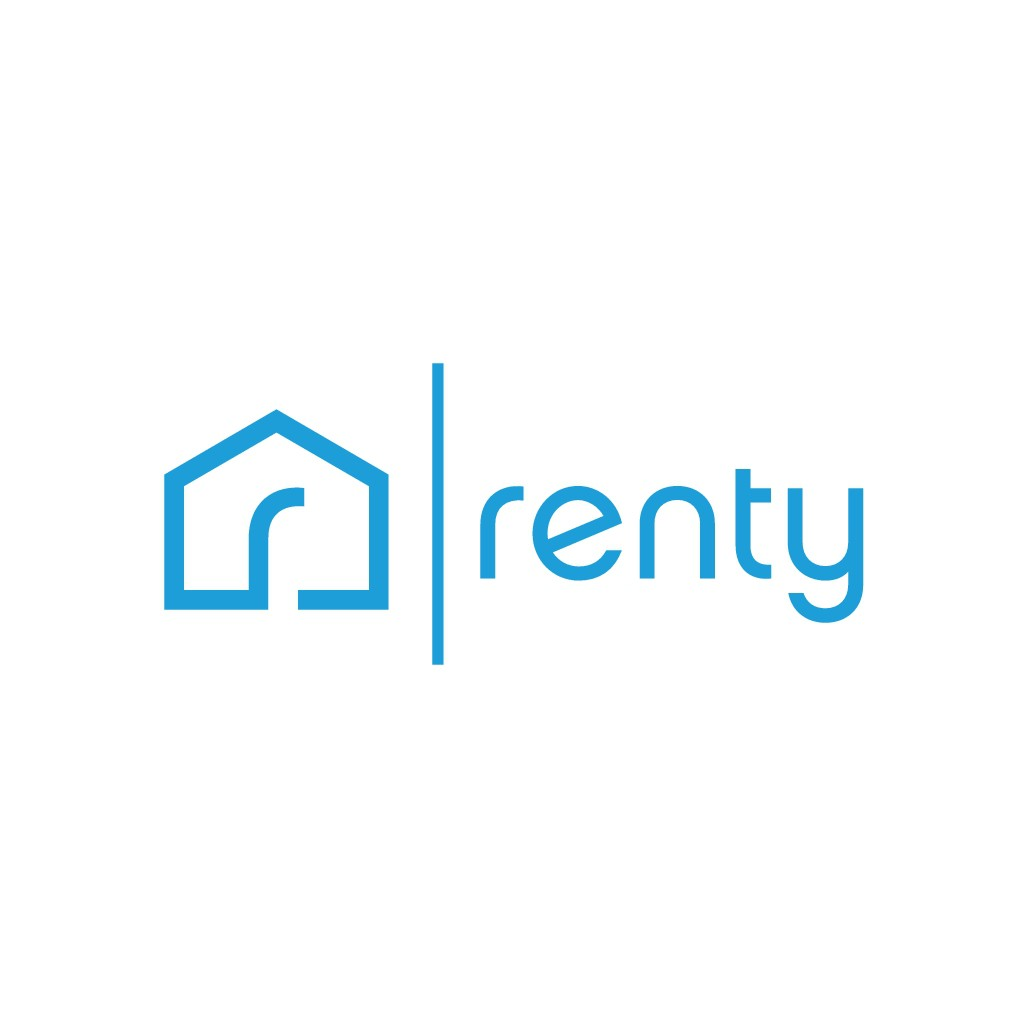 Create an app icon/logo for a  service that simplifies the rental process for renters and landlords.