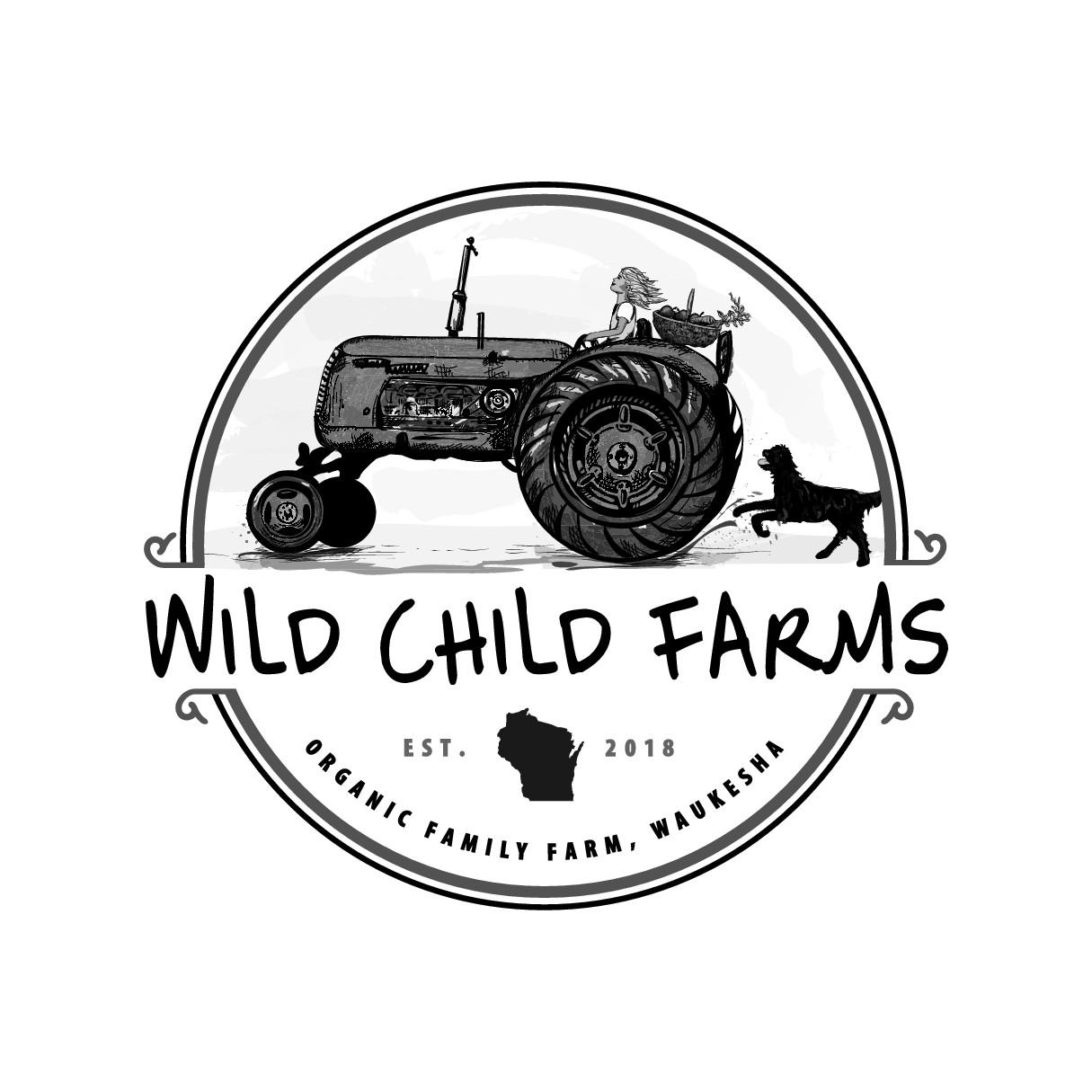 Logo for family farm