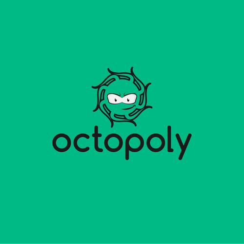 Create a nice looking octopus maybe incorporated in the company name