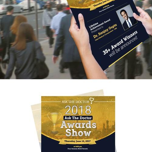 award flyer