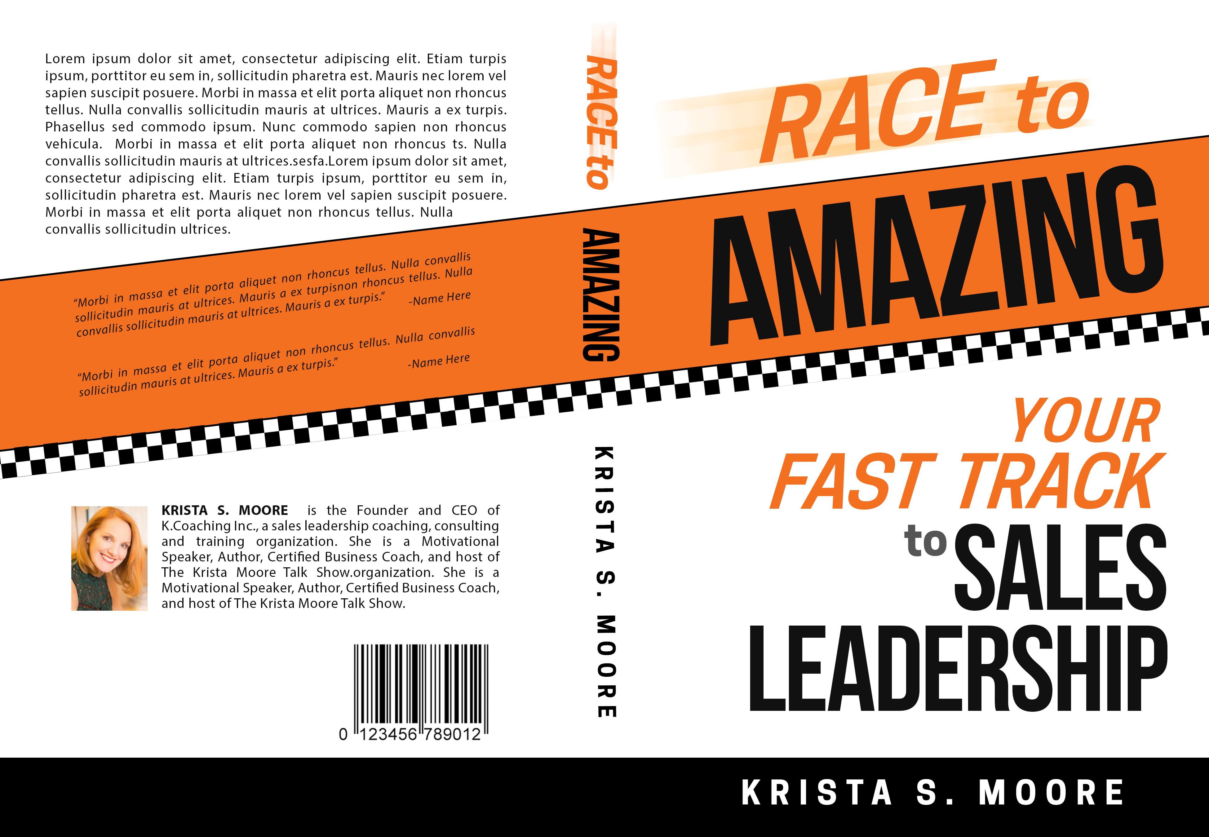 Race To Amazing - Needs an Outstanding Book Cover!