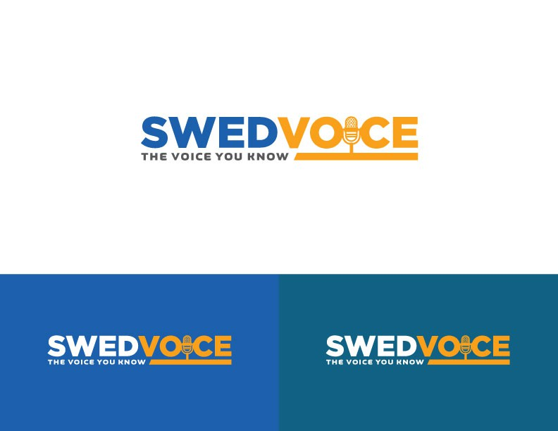 New Logo for voiceover advertising personality - Swedvoice