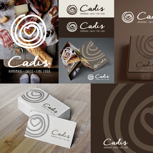 Create an iconic, premium and authentic logo for homemade swiss fine food