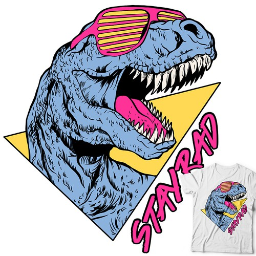 STAY RAD 90's T-REX