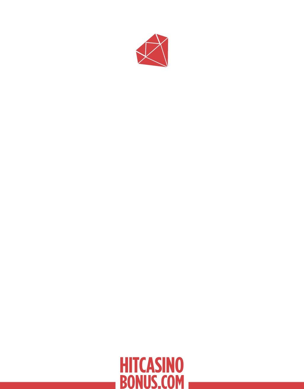 Design a minimalistic letterhead for HitCasinoBonus.com