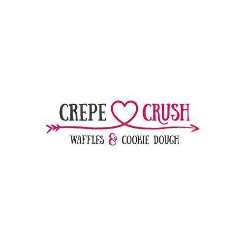 Logo-Design für eine Crêperie