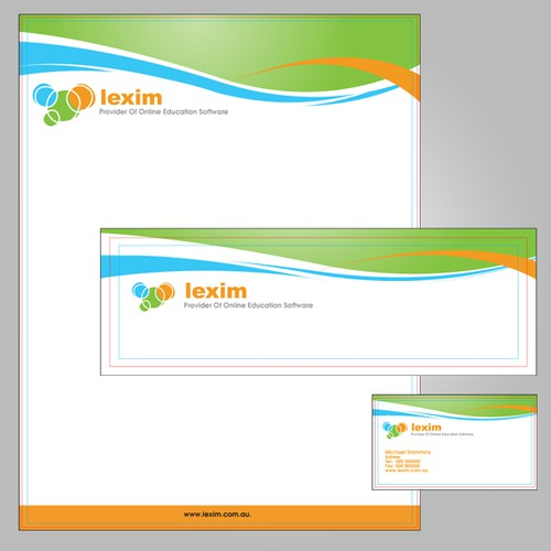 Create new stationary for Lexim - provider of online education software