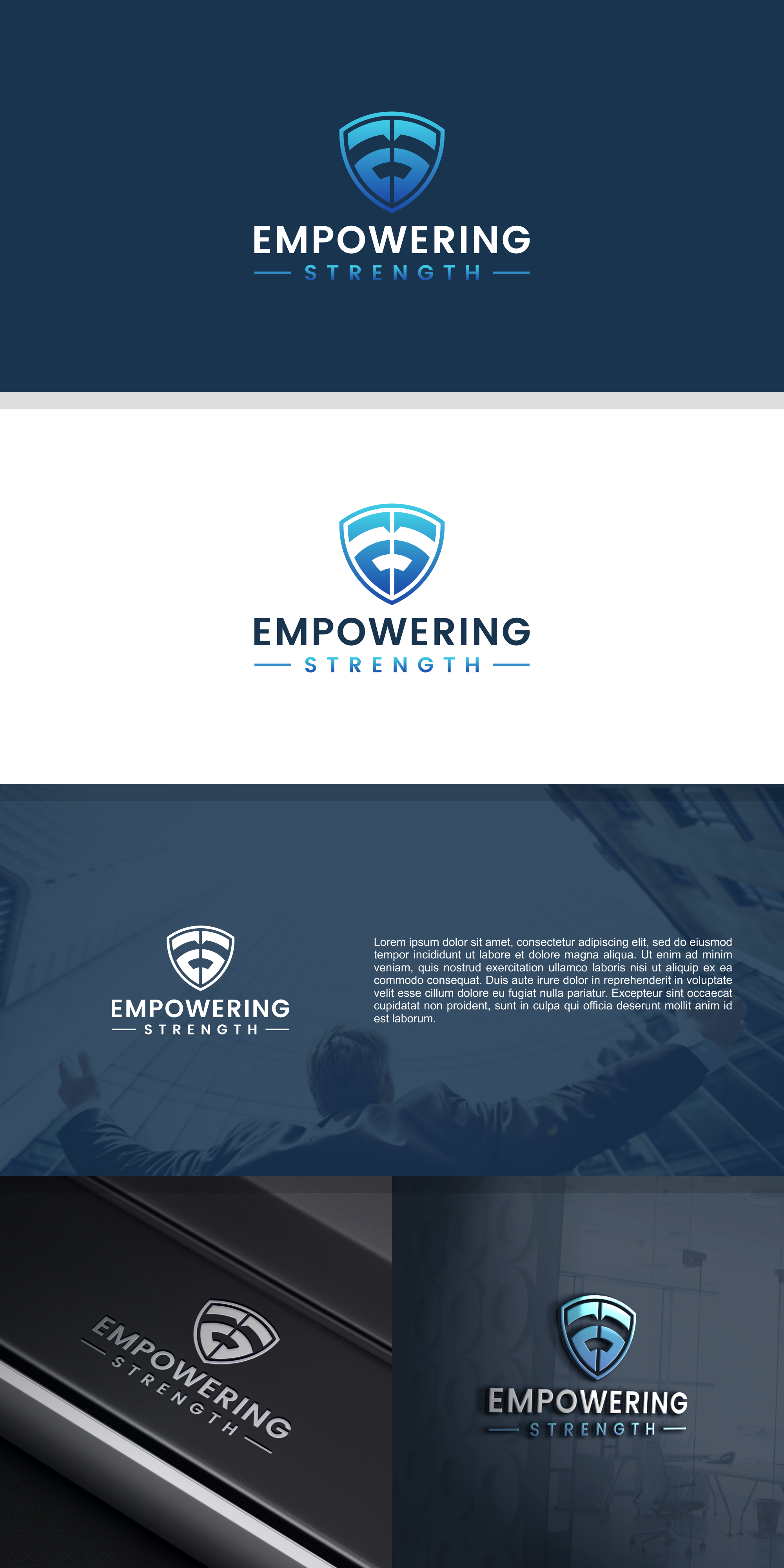 Empowering logo needed to assist others in finding their true strength