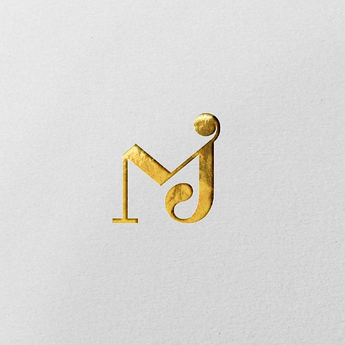 Luxurious logo for minted Jewelry