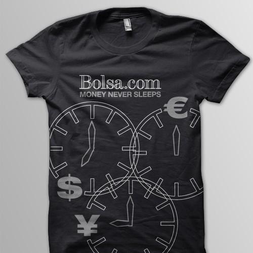 T-Shirt for the Social Network Bolsa.com