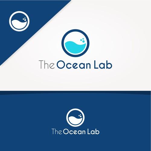 Modern Concept Logo for Ocean Lab