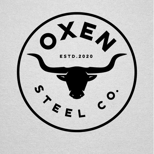 Logo for Oxen Steel Company
