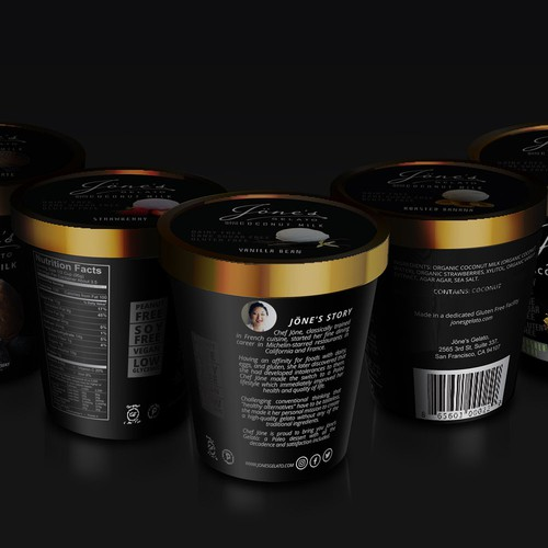 Modern design for Paleo Gelato