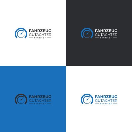 Creative Logo for Fahrzeug Gutachter Richter