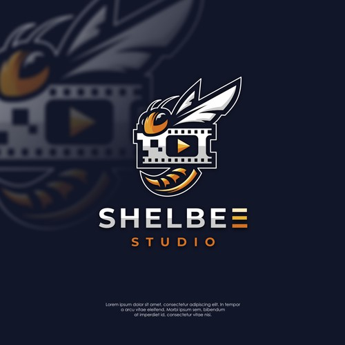 Logo concept for Shelbee Studio