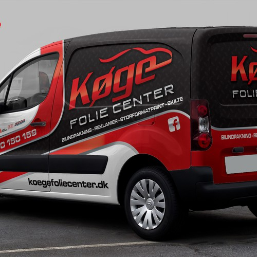 Wrap design for our new company car !