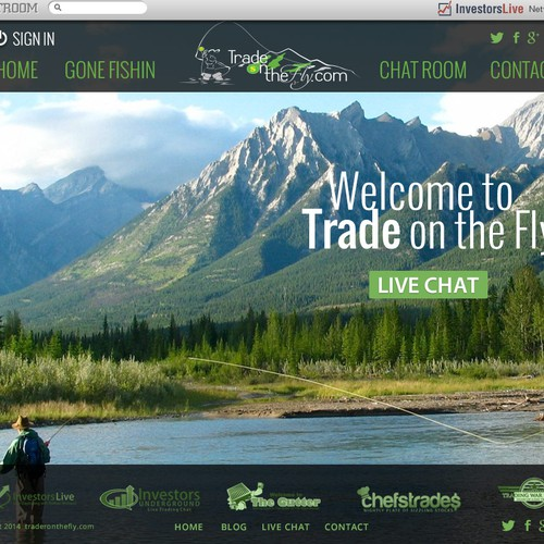 Traderonthefly - Stock Trading + Fly Fishing Blog/Website