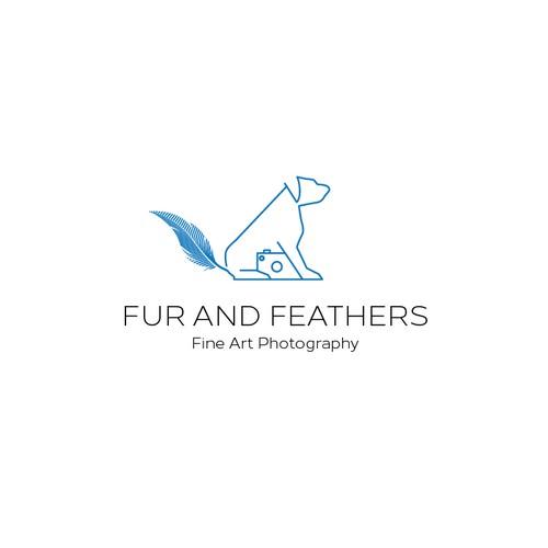 Fur Bad Feather Logo Concept