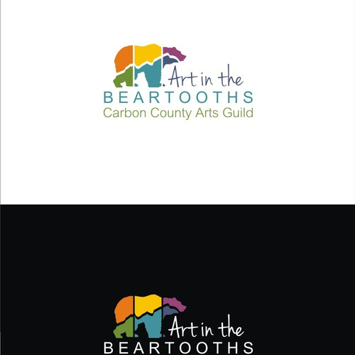 Create a logo for Art in the Beartooths
