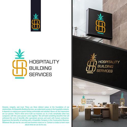 Rebranding HBS logo for construction company