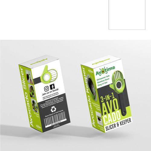 Packaging Design for Avocado Slicer
