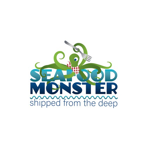 Playful design for seafood trade company