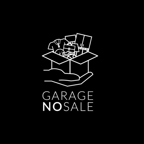 GARAGE NO SALE LOGO