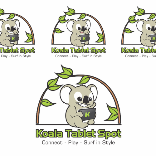Create the next logo for Koala Tablet Spot