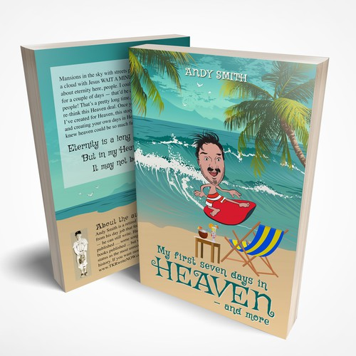Cover and Back for My First Seven Days in Heaven