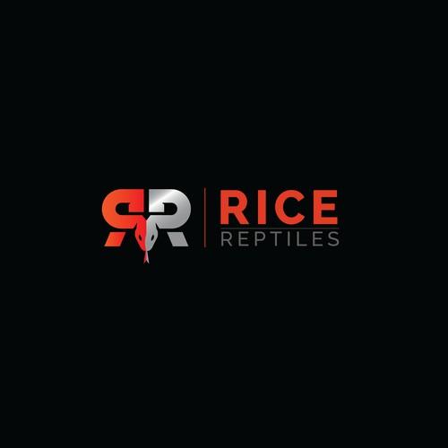Rice Reptiles Logo
